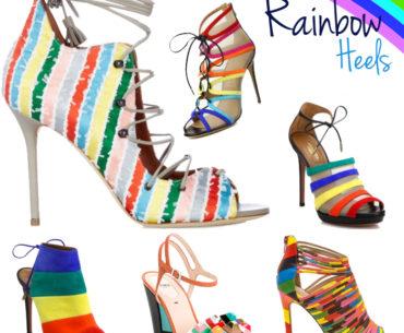 Rainbow Heels Spring 2016