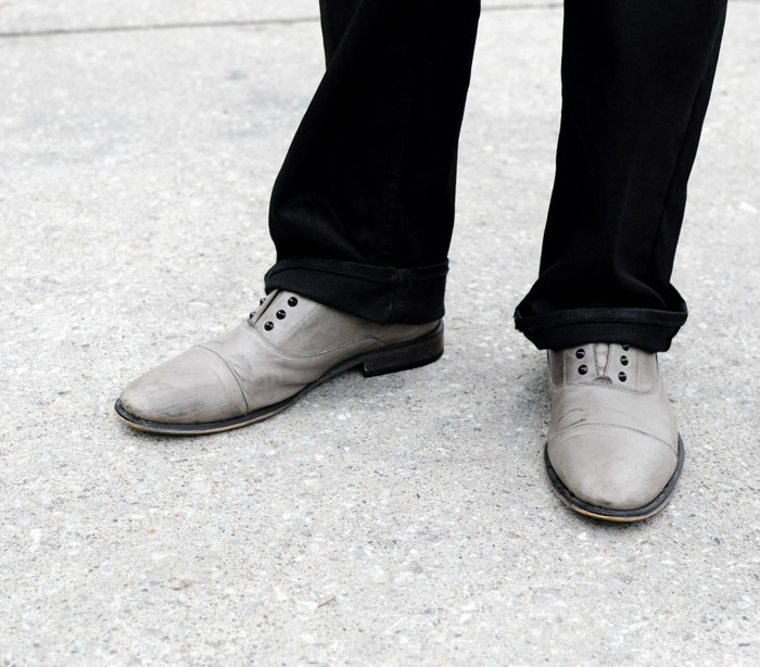 TFW Street Style Grey brogues