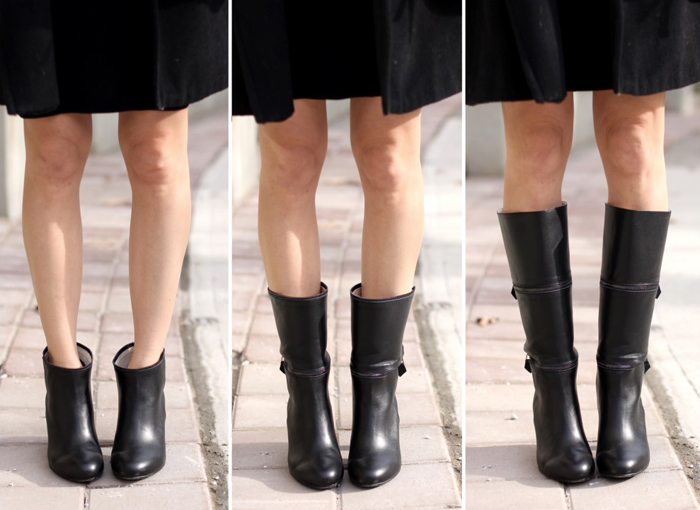 convertible boots outfit