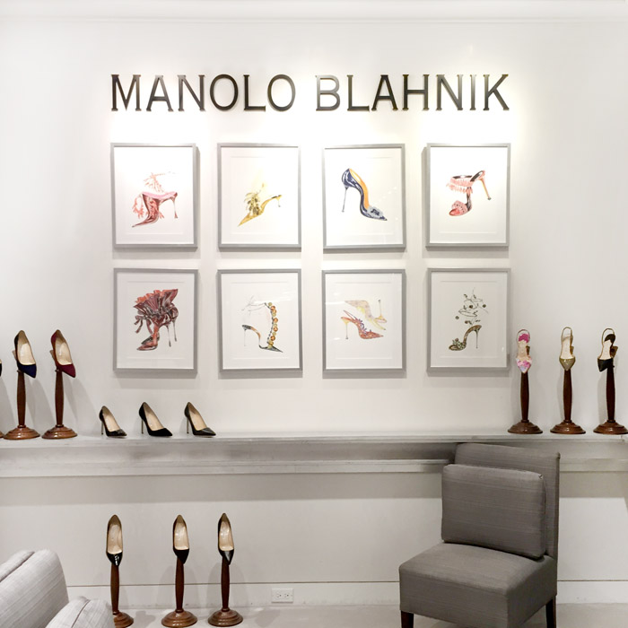Manolo Blahnik in Toronto