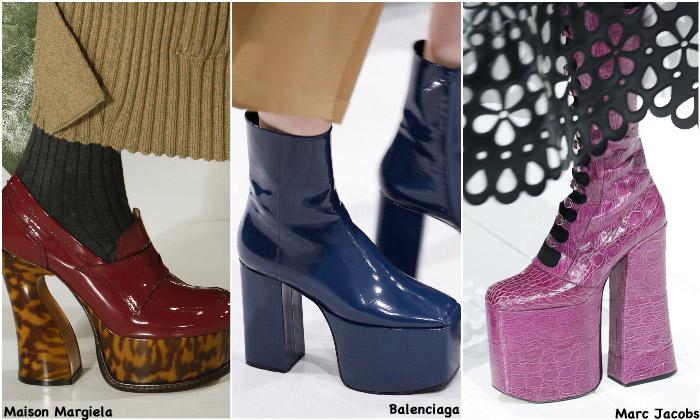 Fall 2016 Shoe Trends - 70s Platforms