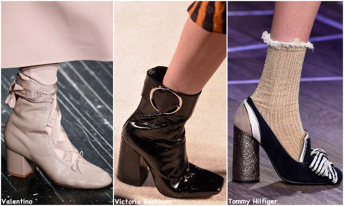 Fall 2016 Shoe Trends - Block Heels