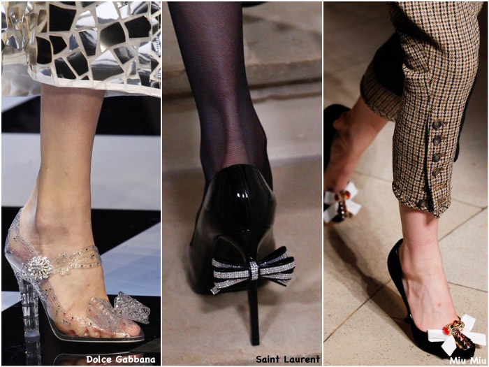 Fall 2016 Shoe Trends - Bows