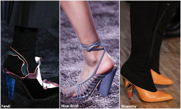 Fall 2016 Shoe Trends - Cone Heels