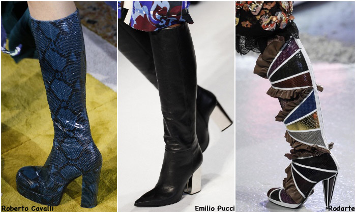 Fall 2016 Shoe Trends - Knee High Boots