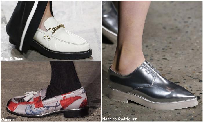 Fall 2016 Shoe Trends - Menswear