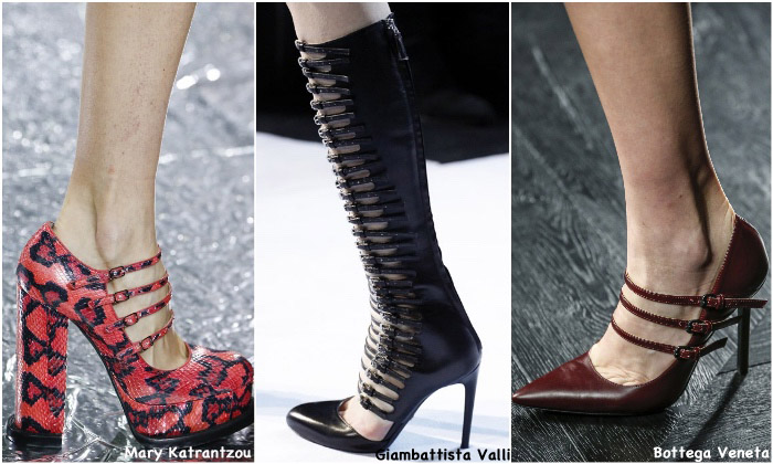 Fall 2016 Shoe Trends - Multi Straps