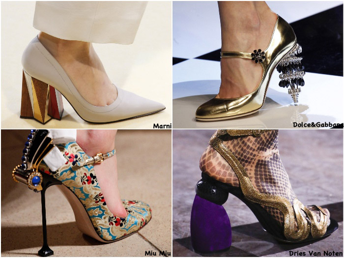 Fall 2016 Shoe Trends - Quirky Heels