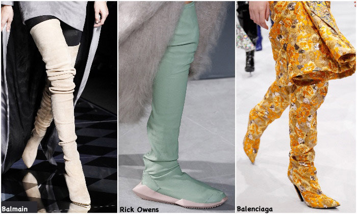 Fall 2016 Shoe Trends - Thigh High Boots