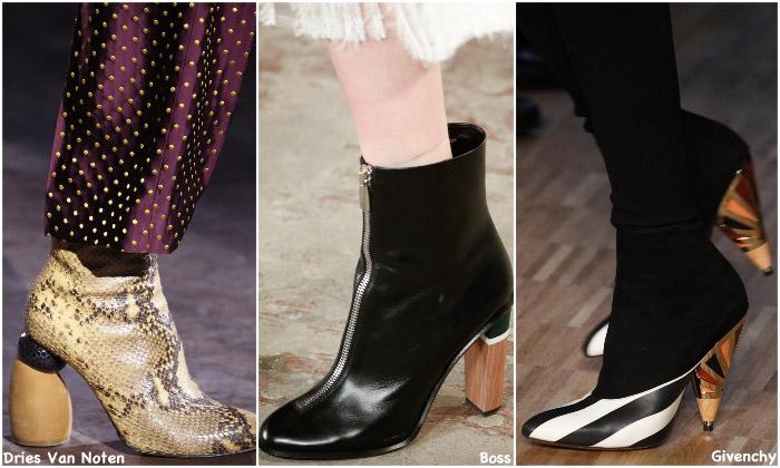 Fall 2016 Shoe Trends - Wooden Heels