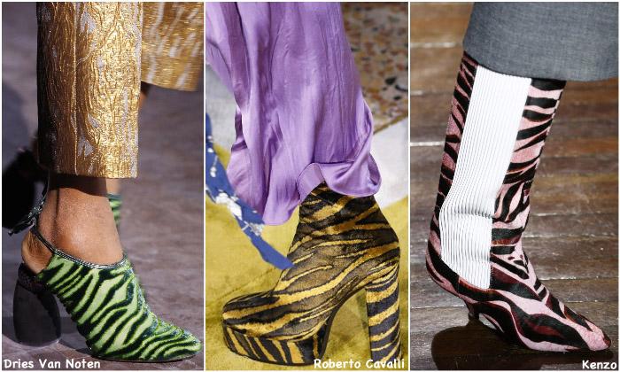 Fall 2016 Shoe Trends - Zebra print