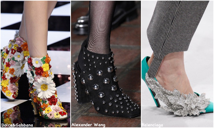 Fall 2016 Shoe Trends - over the top