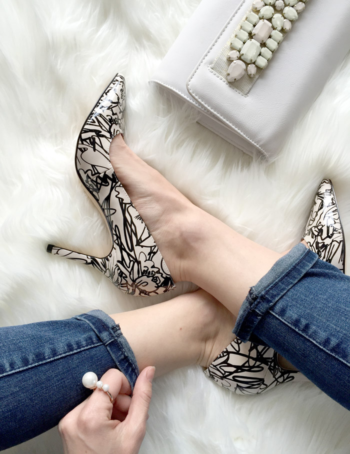 Nine West Canada Spring 2016 Martina Squiggles