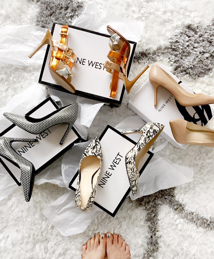 Nine West Canada Spring 2016 Shoe Unboxing