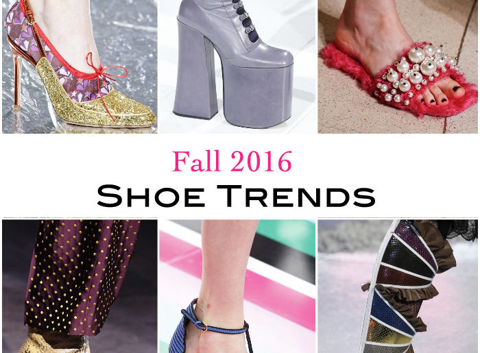 Women's Fall 2016 Shoe Trends: Your Complete Guide