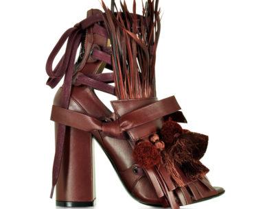 Ugly Sandals Brown Straw N21