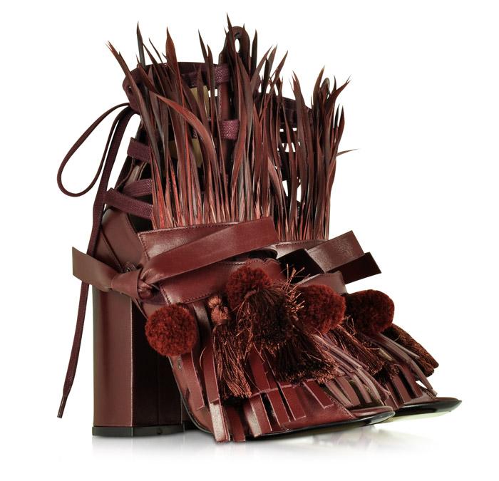 ugly sandals n21 straw heels