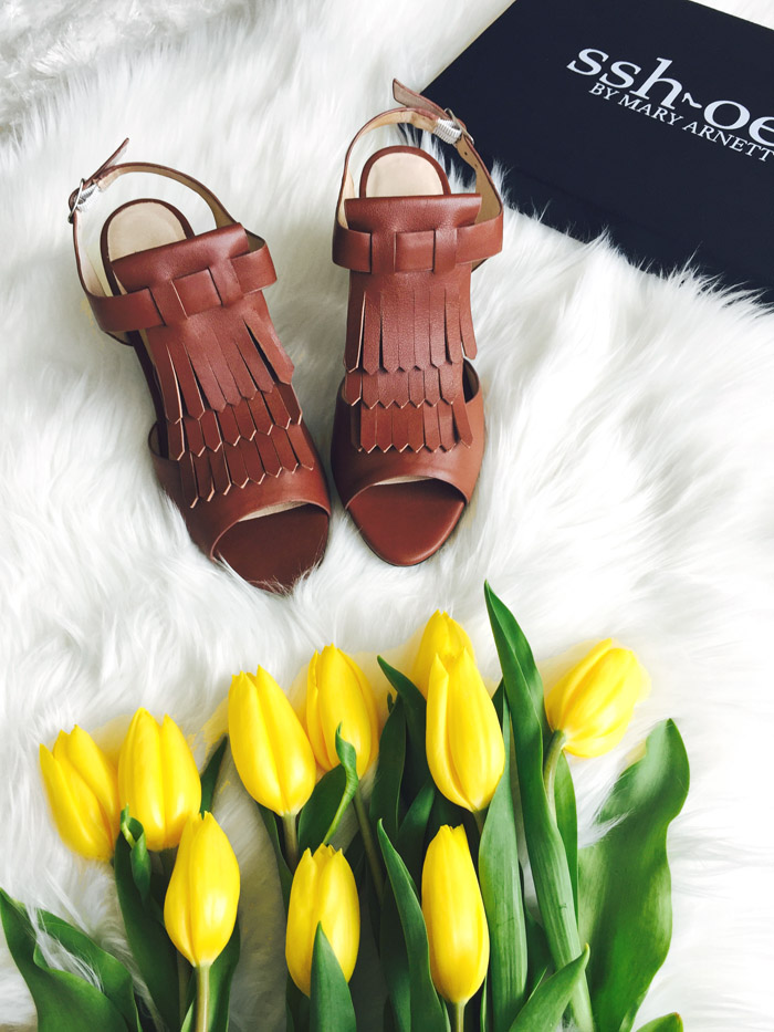 Brown Fringe Sshoes Quiet Comfortable Heels