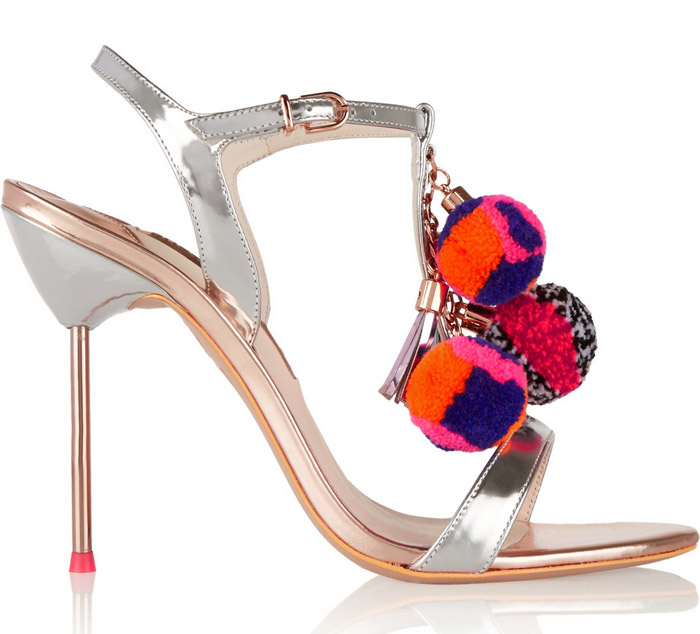 Sophia Webster Pom Pom Sandals