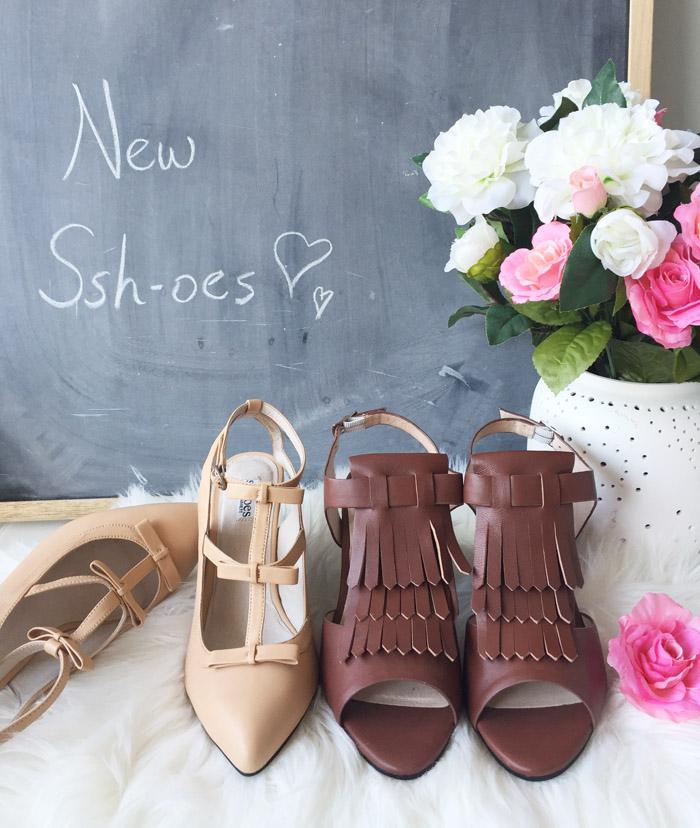 Spring Sshoes Quiet Comfortable Heels