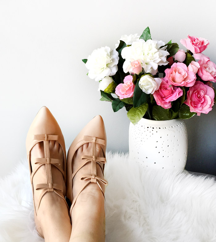 Strappy nude comfortable shoe bows sshoes