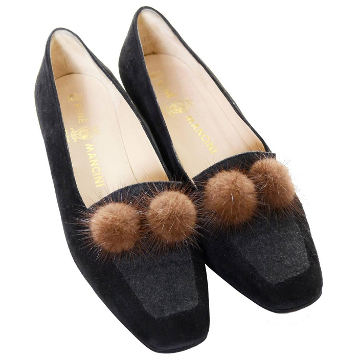 Ugly Pom Pom Loafers brown