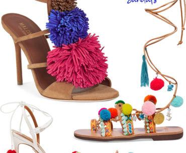 Pom Pom Sandals Shoe Trend