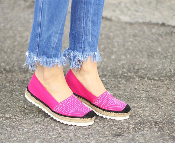 Pink Platform Espadrilles Made in Spain