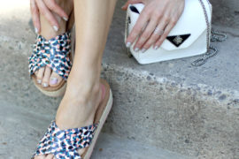 Funfetti Platform Slides Nine West