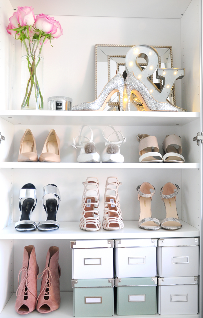 the truth about my shoe closet how to organize shoes. Black Bedroom Furniture Sets. Home Design Ideas