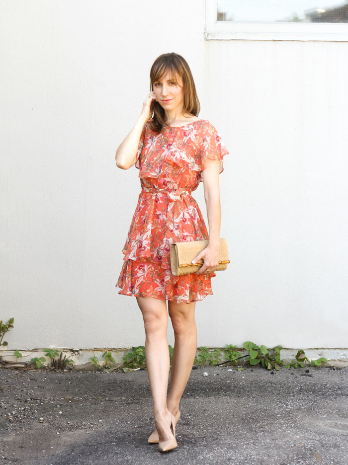 What Shoes Go With Coral Dress