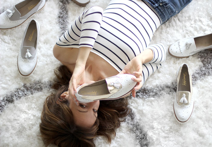 Womens tassel wingtip loafers 3