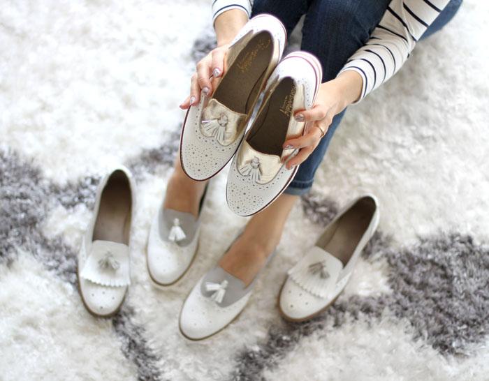 Womens tassel wingtip loafers 4