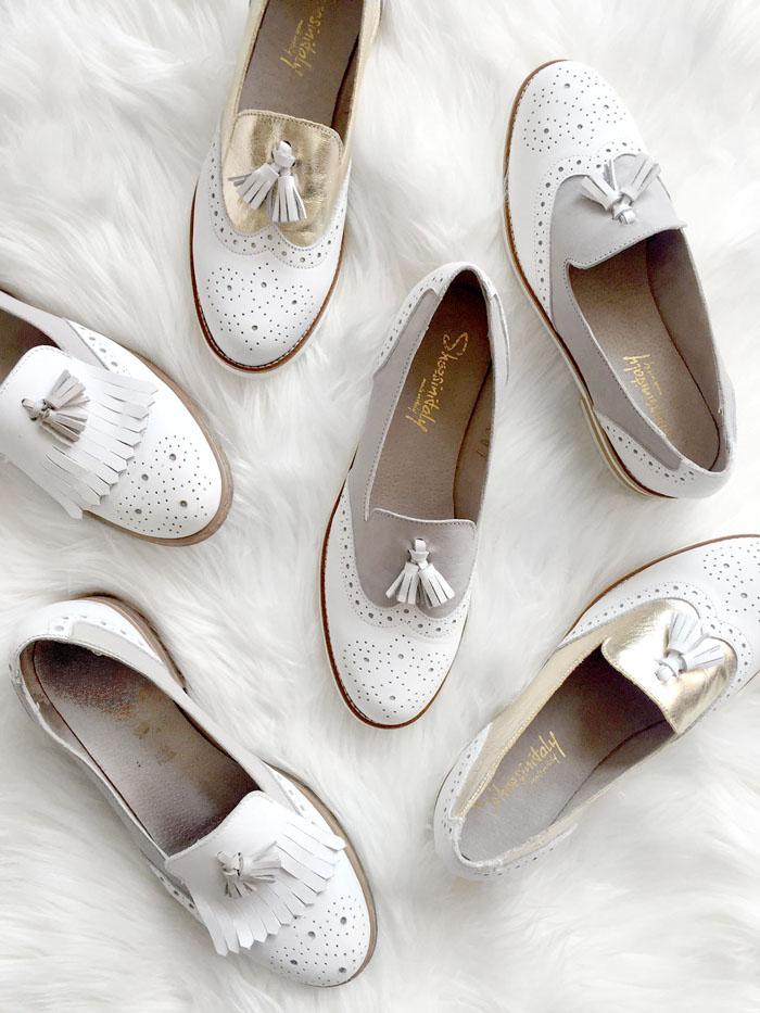 Womens tassel wingtip loafers 6