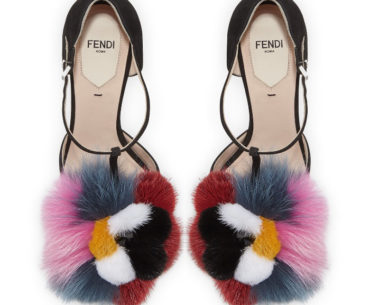 Fendi Furry High Heels