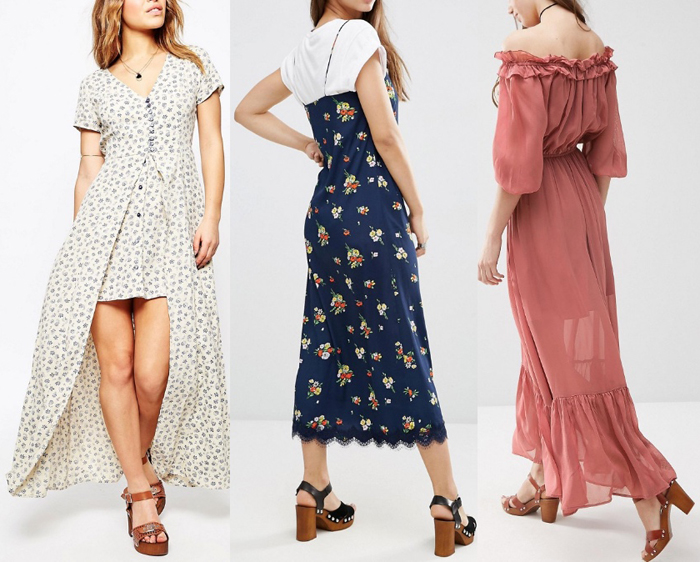 What Type Shoe Looks Good With Maxi Dress