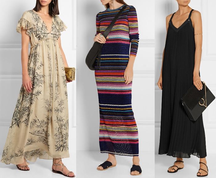 Shoes to Wear with Maxi Dress Flat Sandals 1