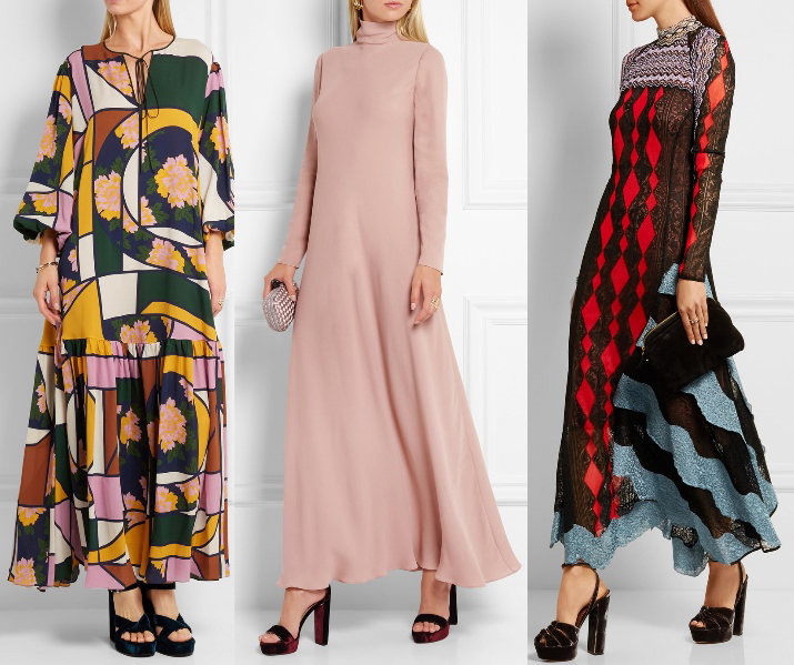 how to wear a maxi dress in the fall 2016
