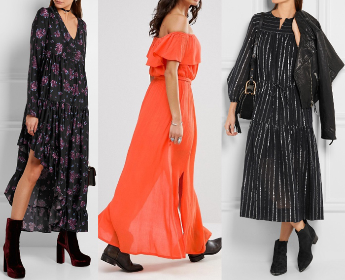 Best Shoes To Wear With Maxi Dress Es