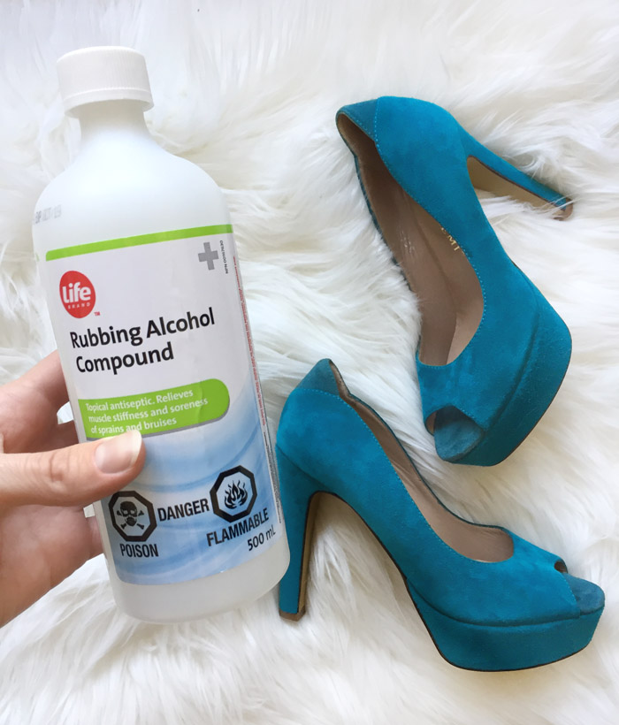How To Stretch Shoes With Rubbing Alcohol