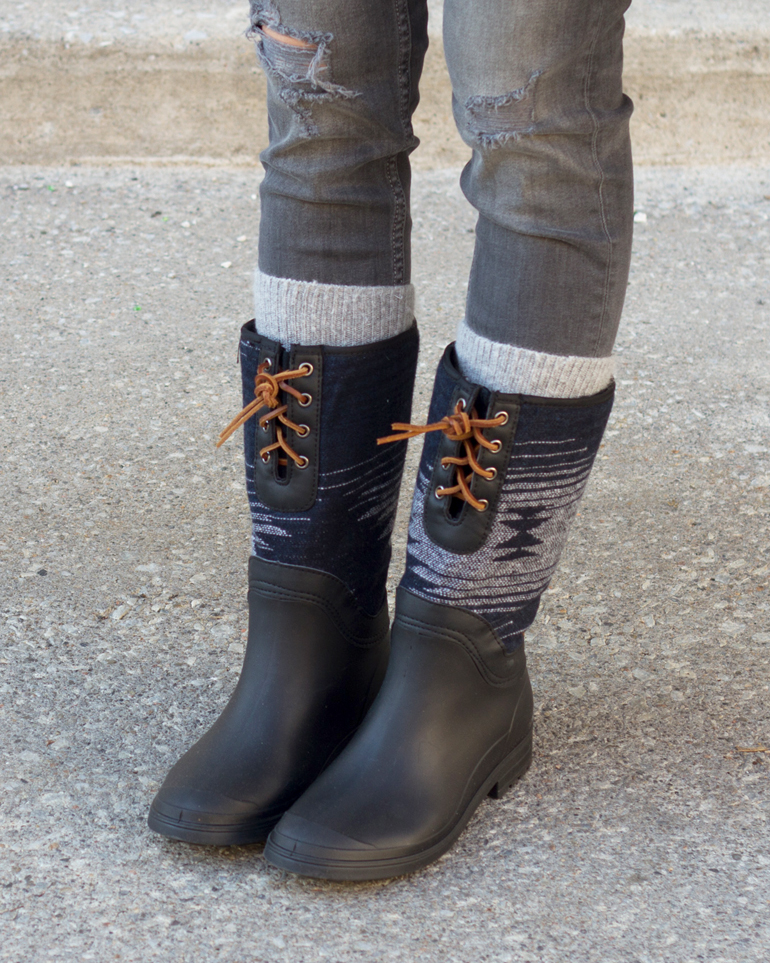 Kamik Insulated Rain Boots Heritage 1898 Collection