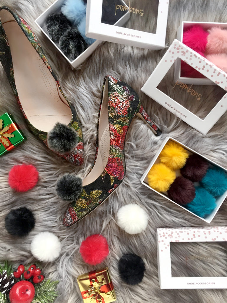 2019 Shoe Lover's gift guide - Pom Pom Shoe Clips
