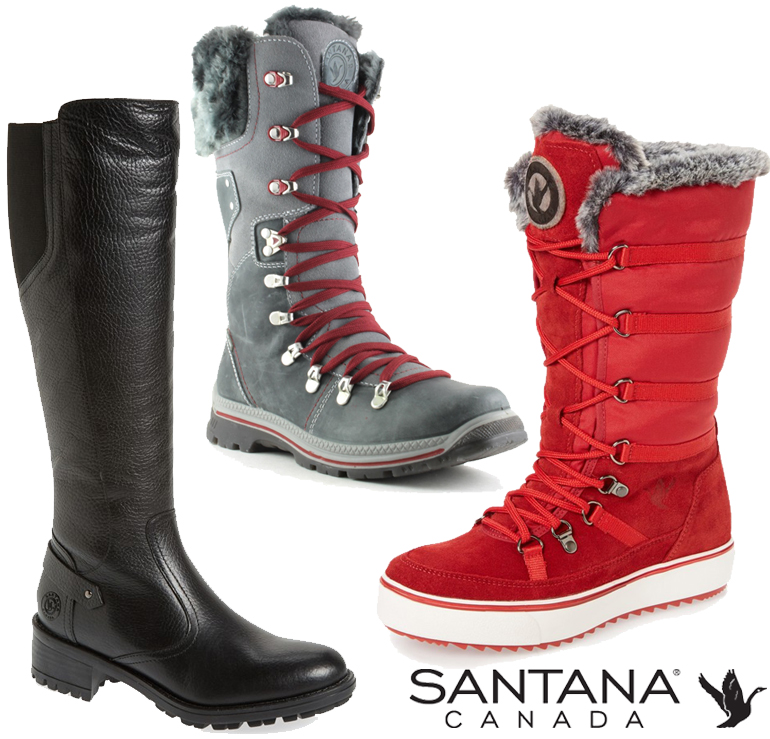 Canadian Winter boots brands Santana
