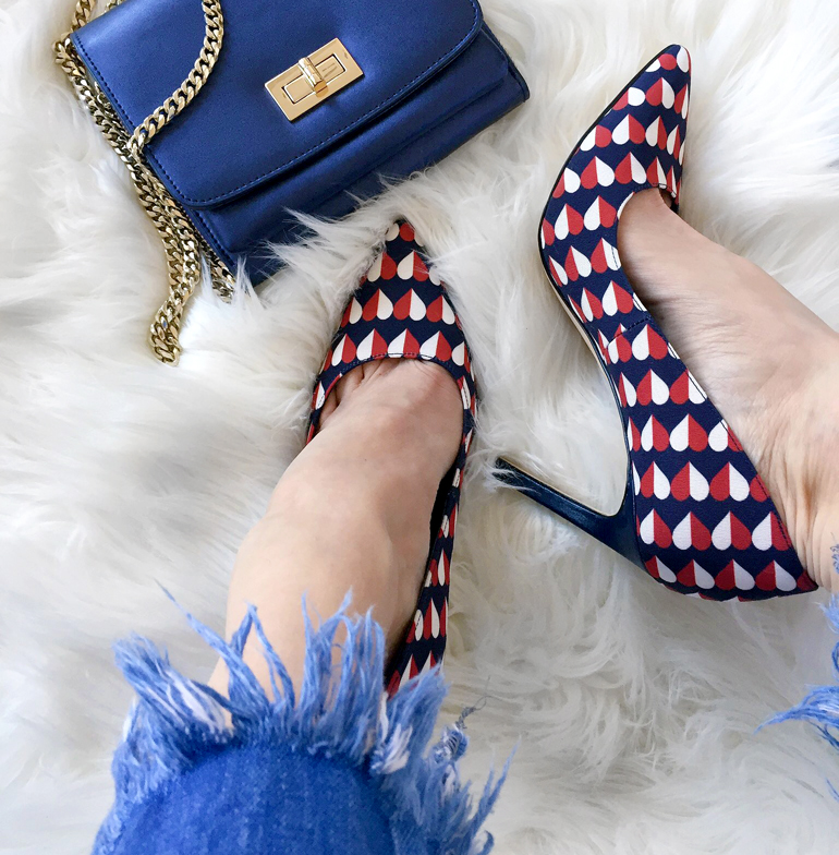 Shoes with Hearts Nine West Heels