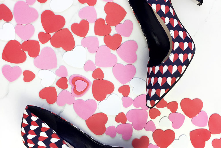 12 Prettiest Shoes with Hearts For Valentine's Day 2017
