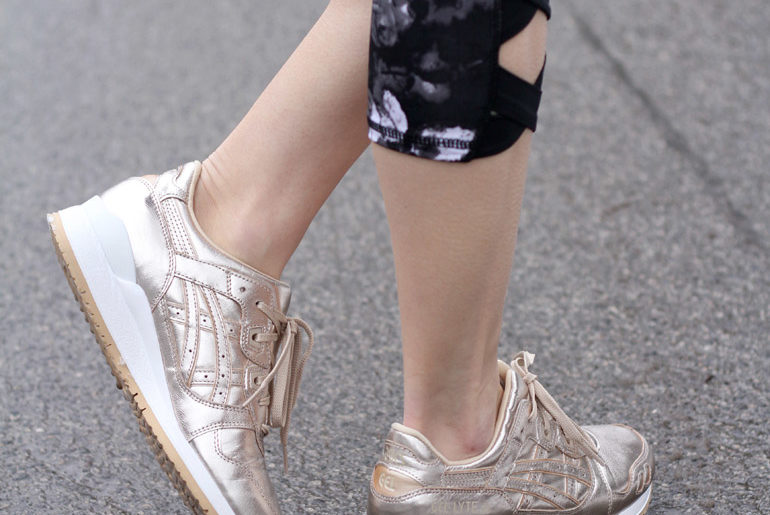 Asics Rose Gold Sneakers (& my Love/Lazy Relationship with the Gym)