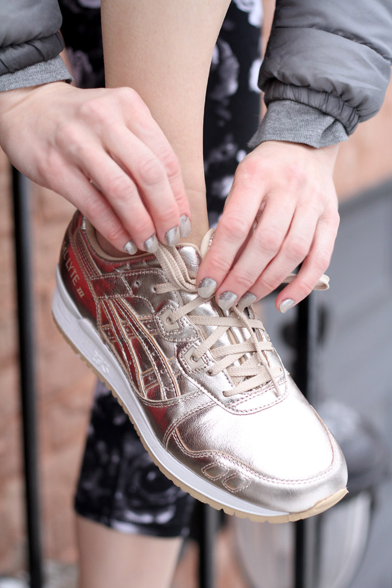 Asics Rose Gold Sneakers