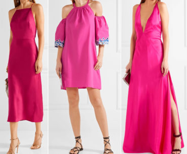 What Color shoes with hot pink dressWhat Color shoes to wear with hot pink dress