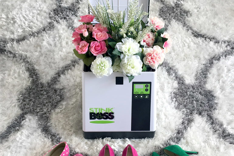 StinkBoss Review | Ozone Shoe Deodorizer Box