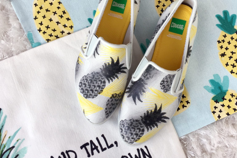 Best Pineapple Shoes for Spring/Summer 2017
